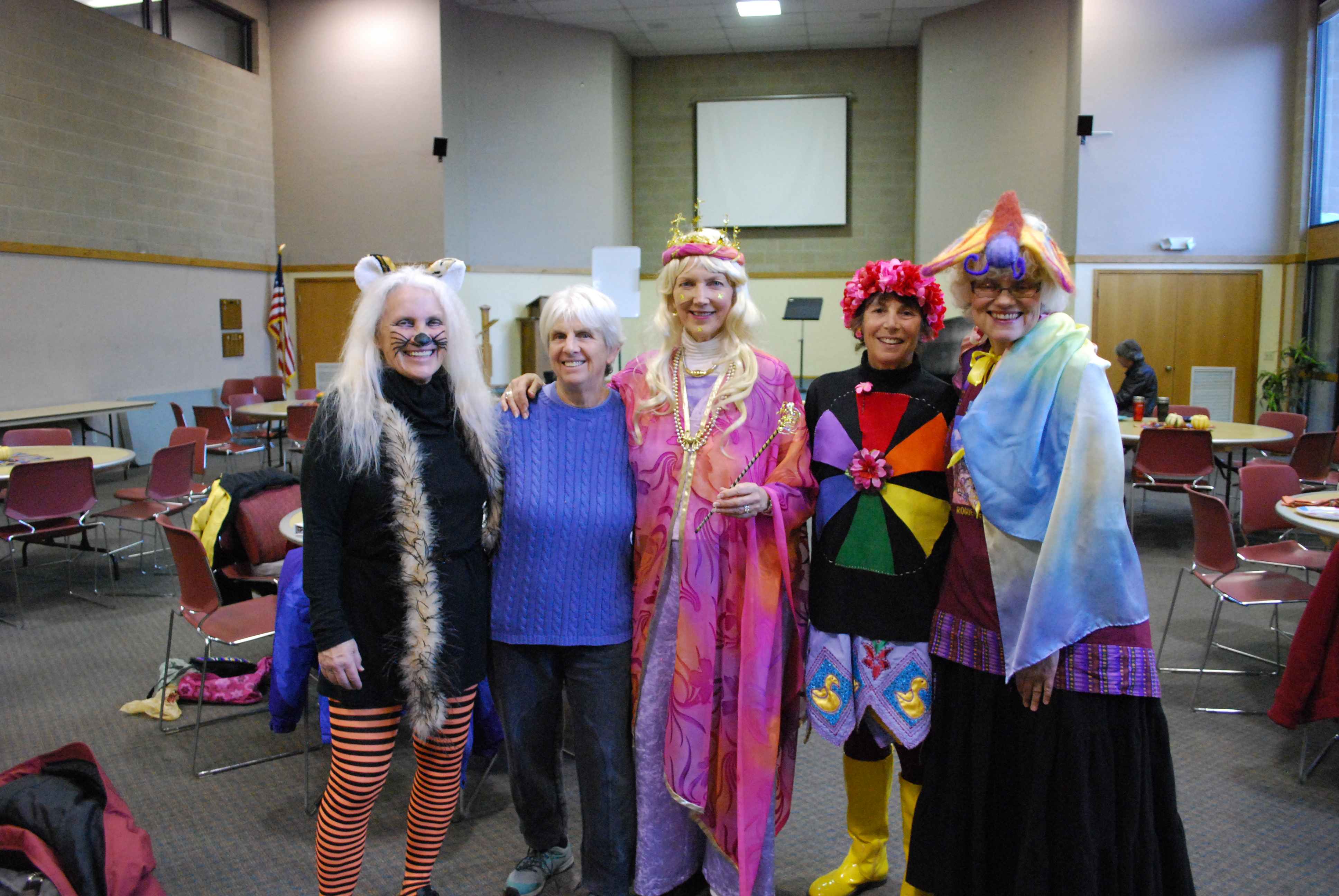 Peace Choir Halloween 2016