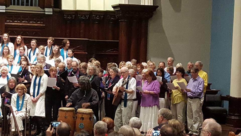 Four Peace Choirs Concert, Portland 2016