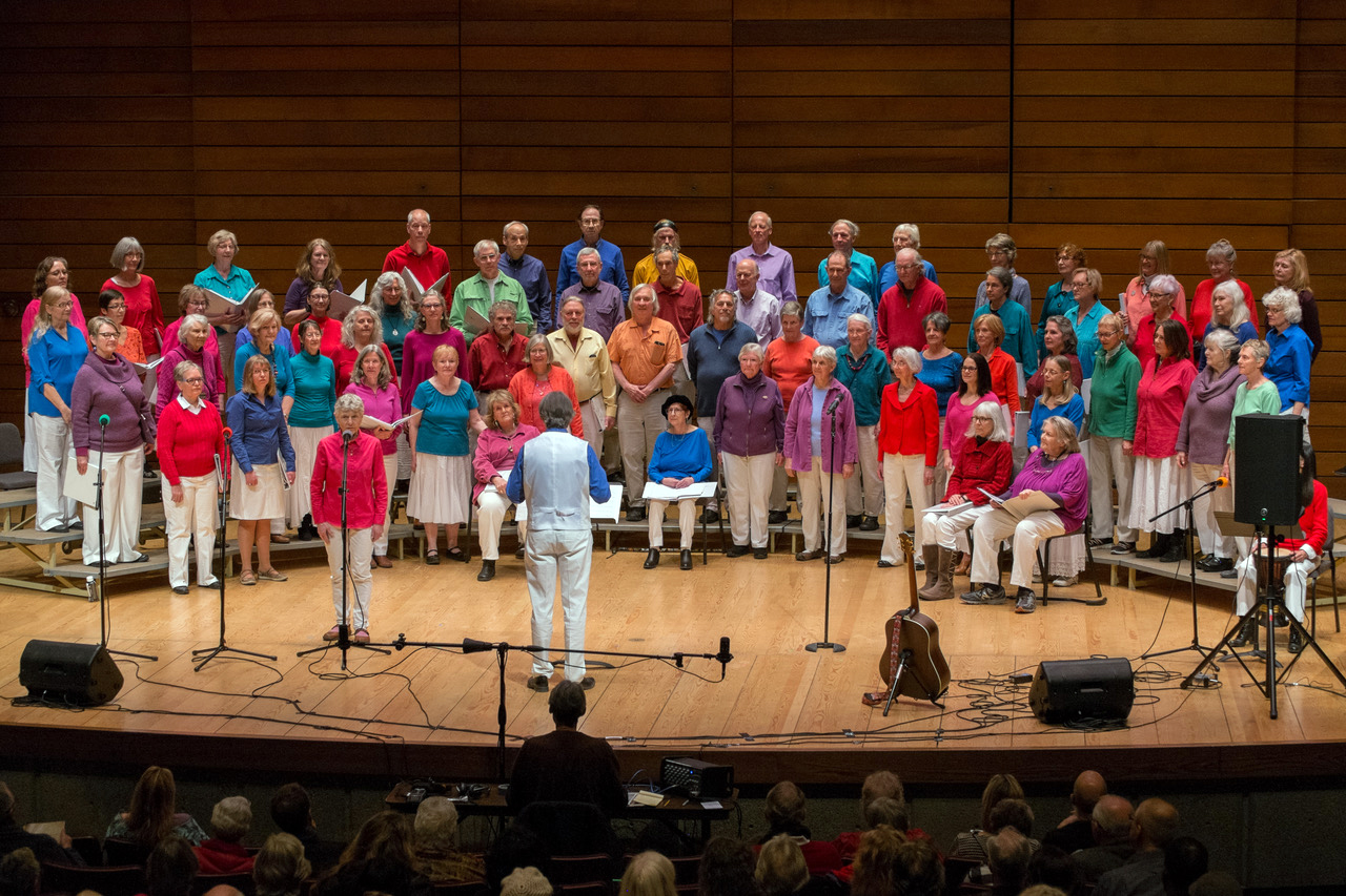 "Rogue Valley Peace Choir at ""One Voice,"" February 2018"