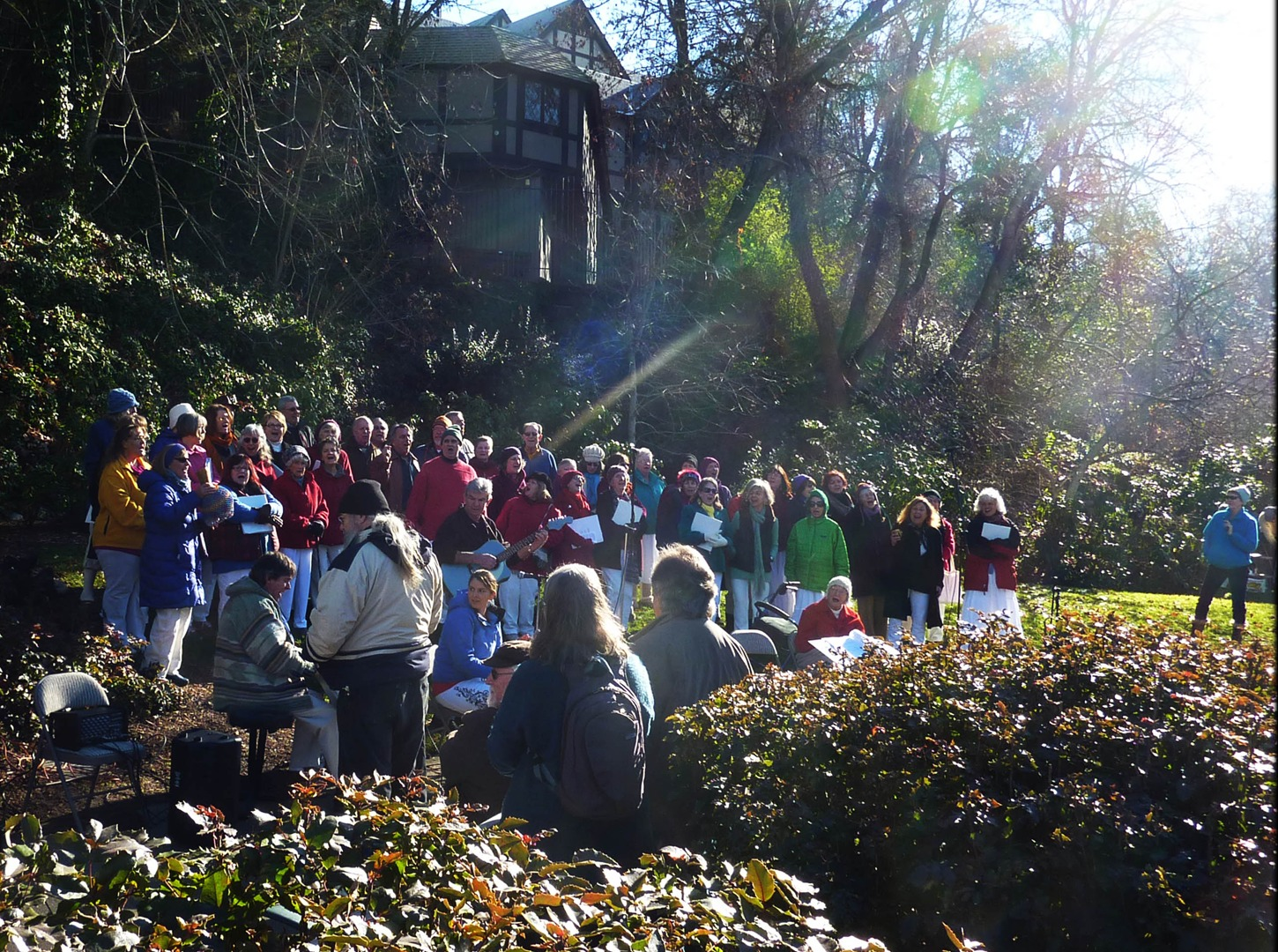MLK Day in Lithia Park