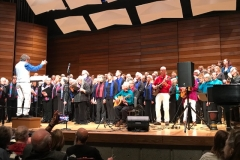 "Five-choir finale, ""One Voice"" concert, February 2018"