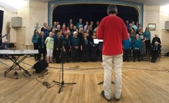 Retreat with Emandal Chorale in Willits, CA