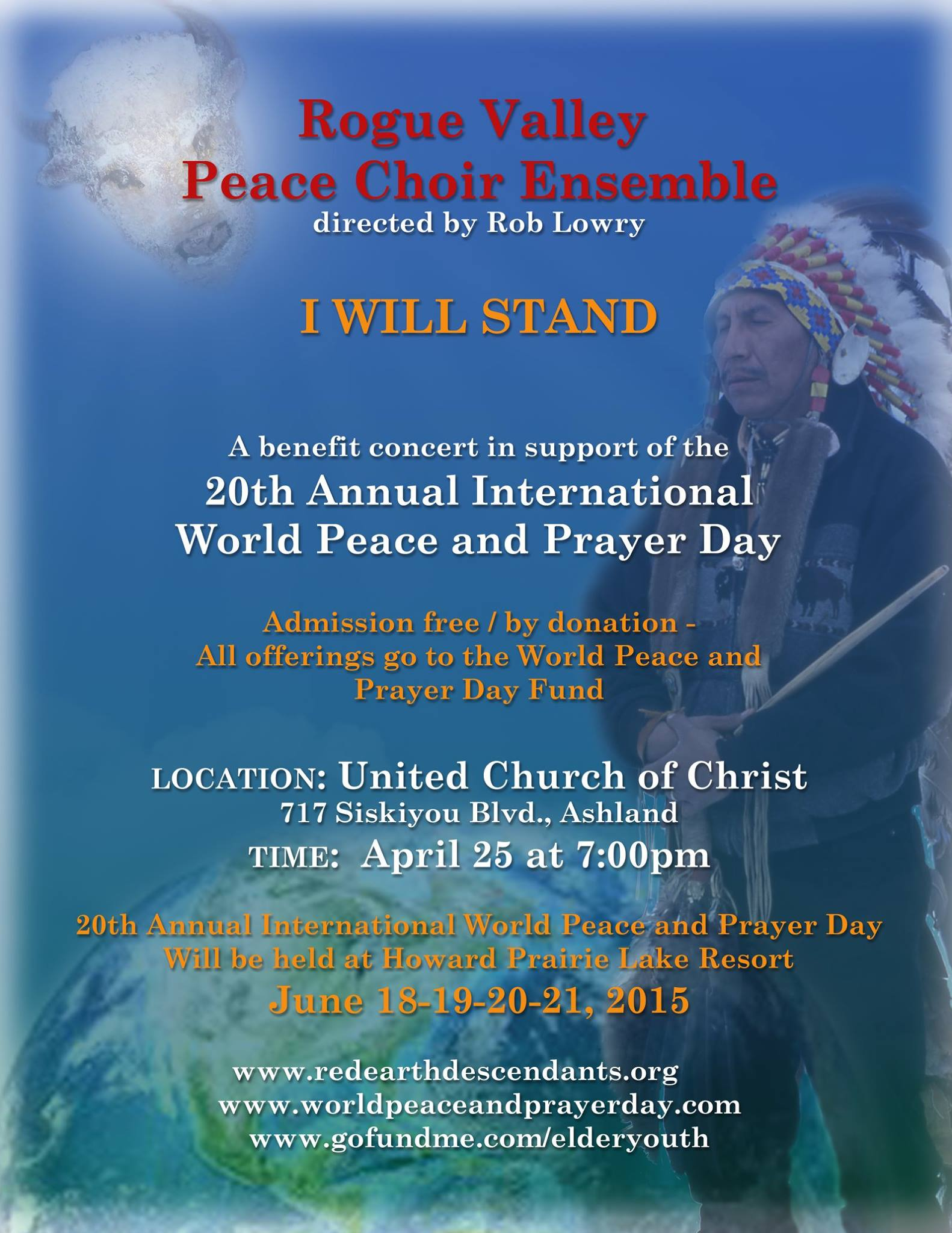 World Peace and Prayer Day 2015