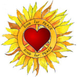 Carolee Art Sunflower Heart ALONE
